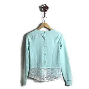 Anthropologie Saturday Sunday Button Back Sweater